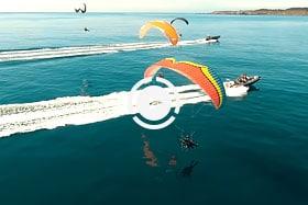 Parajet Maverick Paramotor Flight to Isles of Scilly UK